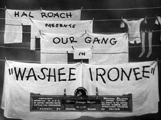 Washee Ironee - Image: Washee ironee