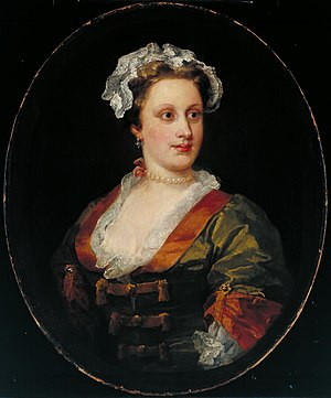 Charles Powlett, 3rd Duke of Bolton - William Hogarth's portrait of Lavinia, Duchess of Bolton.