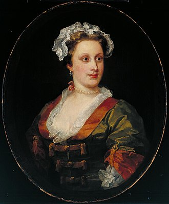 Charles Powlett, 3rd Duke of Bolton - William Hogarth's portrait of Lavinia, Duchess of Bolton.