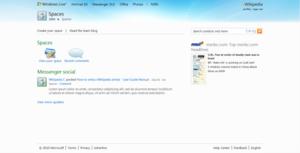 Windows Live Spaces - Image: Windows live spaces