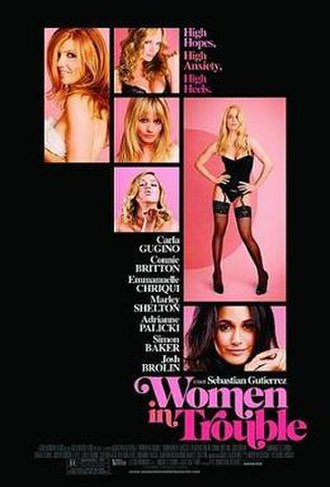 Women in Trouble - Promotional film poster