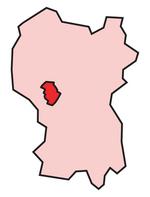 Bangsar shown within the Federal Territory of Kuala Lumpur