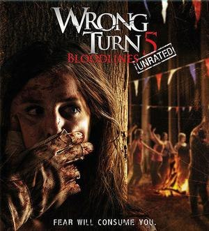 Wrong Turn 5: Bloodlines - DVD cover