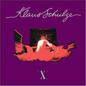 X (Klaus Schulze album) - Image: X album