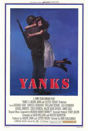 Yanks - Cinema release poster