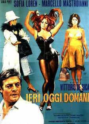 Yesterday, Today and Tomorrow - original movie poster