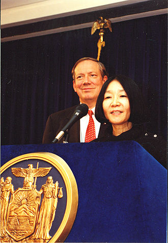 George Pataki - Pataki and Philanthropist Yuko Nii