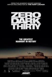 <i>Zero Dark Thirty</i> 2012 film by Kathryn Bigelow