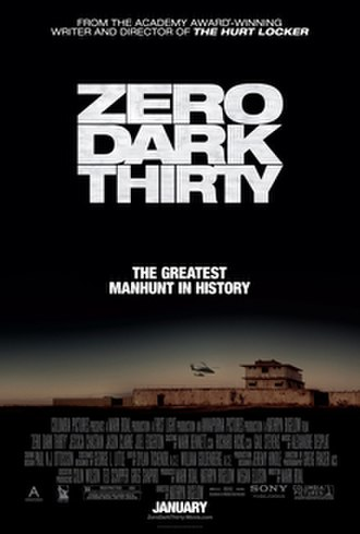 Zero Dark Thirty - Theatrical release poster