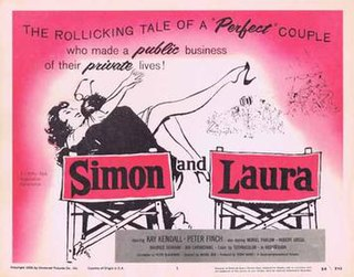 <i>Simon and Laura</i> 1955 film by Muriel Box