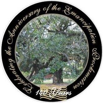 140th Year Anniversary Celebration of the Emancipation Proclamation - 140th Anniversary Celebration of the Emancipation Proclamation logo