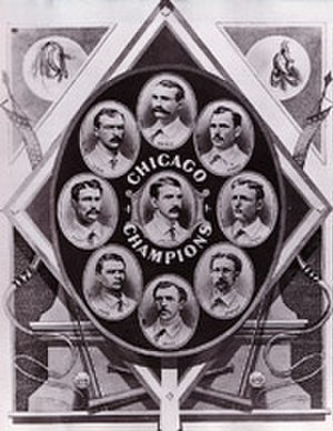 History of the Chicago Cubs - The 1876 White Stockings won the N.L.'s first pennant