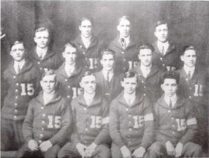 "1914–15 Illinois Fighting Illini men's basketball team - ""1914-15 Fighting Illini championship team photo"""