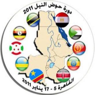 2011 Nile Basin Tournament - Image: 2011 Nile Basin Tournament logo