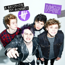 5 Seconds of Summer - Don't Stop (Single Cover oficial) .png