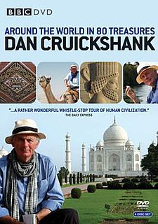 <i>Around the World in 80 Treasures</i> 2005 art and travel documentary series by the BBC