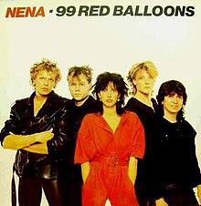 nena 99 luftballons lyrics