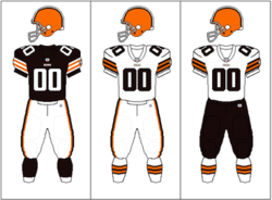 buy popular 83f65 3b7d0 Logos and uniforms of the Cleveland Browns - Wikipedia