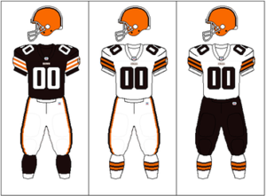 2009 Cleveland Browns season - Image: AFCN Uniform CLE brownpants