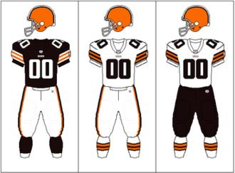 2003 Cleveland Browns season - Image: AFCN Uniform CLE brownpants