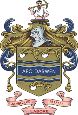 A.F.C. Darwen - Image: AFC Darwen badge
