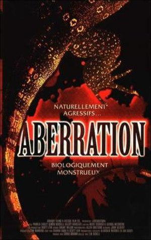 Aberration (film) - French DVD cover