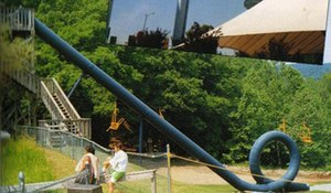 Action Park - Cannonball Loop, the infamous looping waterslide, was only opened for brief periods in Action Park's existence.