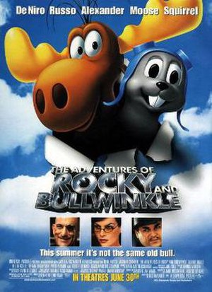 The Adventures of Rocky and Bullwinkle - Theatrical release poster