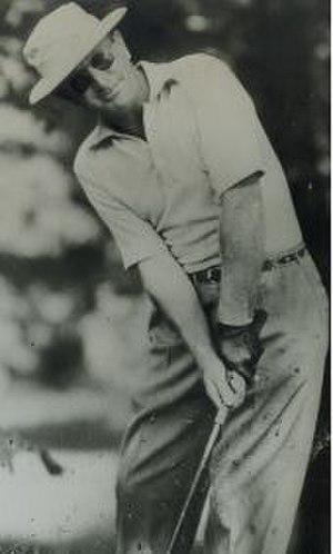 Al Brosch - Brosch hitting a shot (c. 1965)