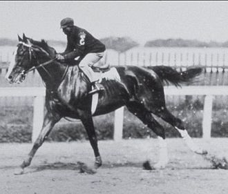 1902 Kentucky Derby - James Winkfield aboard Alan-a-Dale in 1902