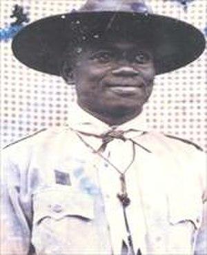 Alieu Ebrima Cham Joof - Alhaji Alieu Ebrima Cham Joof as a Scout Master