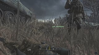 All Ghillied Up Level from Call of Duty: Modern Warfare