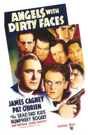Angels with Dirty Faces - Theatrical release poster