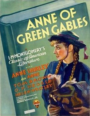 Anne of Green Gables (1934 film) - Theatrical release poster