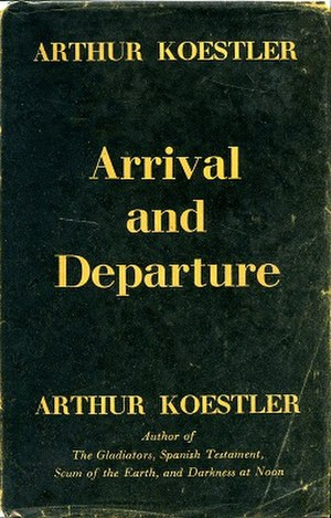 Arrival and Departure - First edition cover