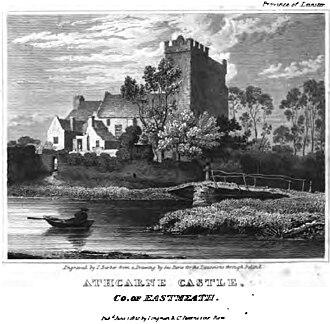 John Bathe (politician) - Athcarne Castle c.1820