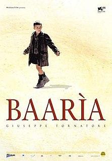 <i>Baarìa</i> (film) 2009 film by Giuseppe Tornatore