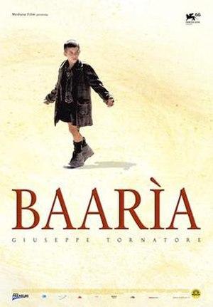 Baarìa (film) - Image: Baaria poster 2009
