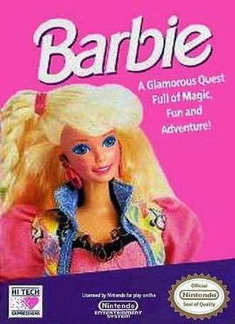 Nonviolent video game - Games such as Nintendo's Barbie have been designed specifically to target female markets and contains little or no violence in keeping with what some Gender HCI studies have suggested appeals more to female audiences.
