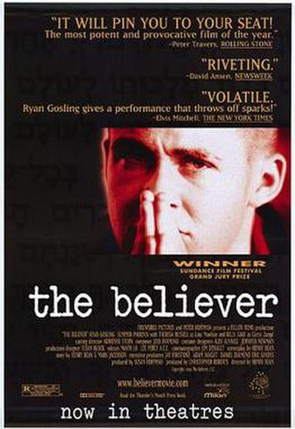 The Believer (film) - Theatrical release poster