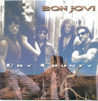 Dry County (song) - Image: Bon Jovi Dry Countycover