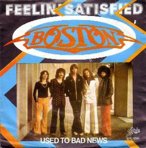 Feelin' Satisfied - Image: Boston Feelin' Satisfied