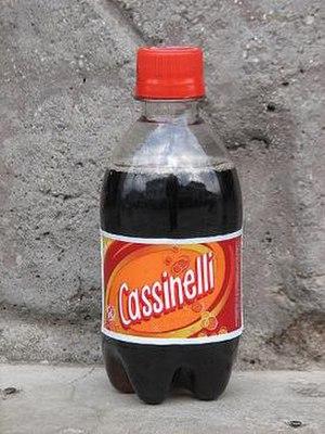 Cassinelli (soft drink) - Image: Brand Cassinelli Plastic Bottle 296 ml