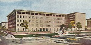 McCombs School of Business - When the Business-Economics Building opened in 1962, it was the largest classroom structure on campus
