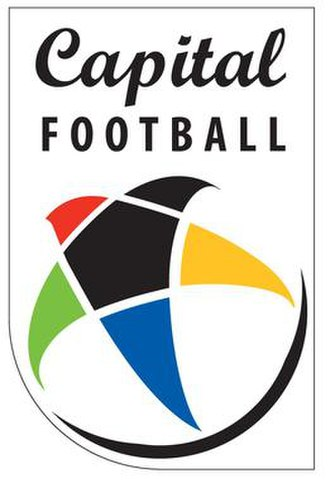 Capital Football (New Zealand) - Image: Capital Football Logo