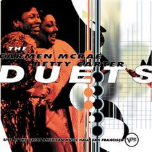 San Francisco Mercedes >> The Carmen McRae – Betty Carter Duets - Wikipedia