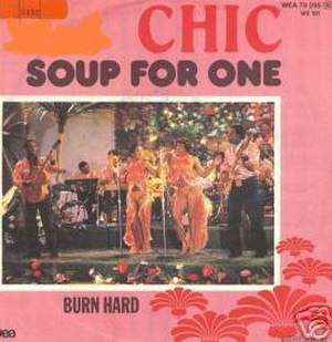 Soup for One (song) - Image: Chicsoupforone