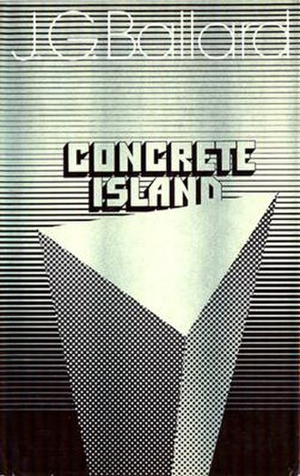 Concrete Island - Cover of first edition (hardcover)