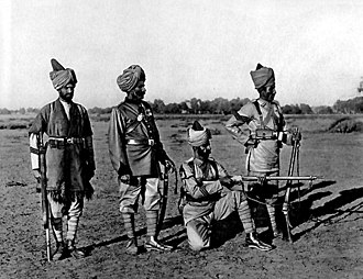 Corps of Guides (India) - Image: Corps of Guides Infantry, 1887