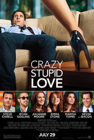 Crazy, Stupid, Love - Theatrical release poster